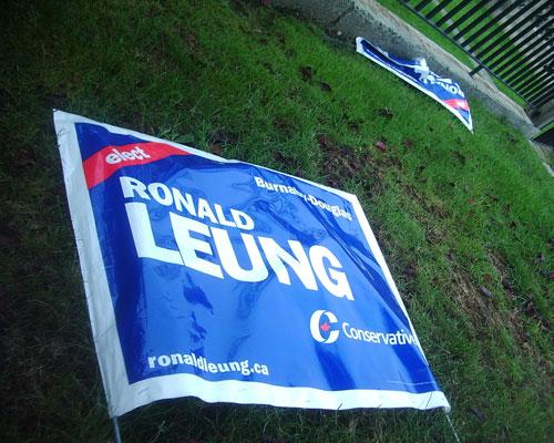 Ronald Leung sign