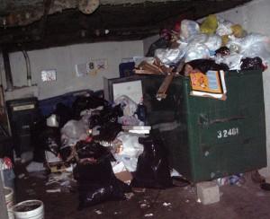 Dumpster time