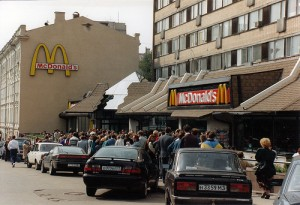 Drama at the McDonald's!!