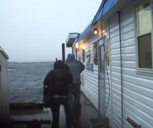 Dinghy Dock Pub Protection Island