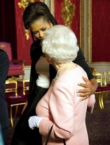 I want to hug Michelle Obama!