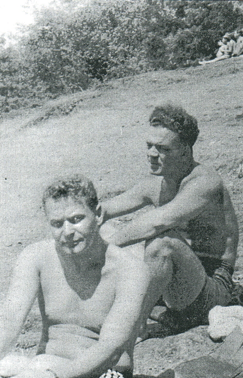 Bud Jenkins and Leo Mantha