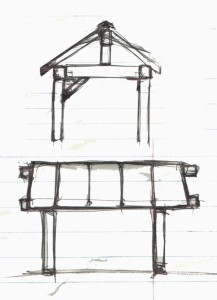Building a gazebo on Vancouver Island
