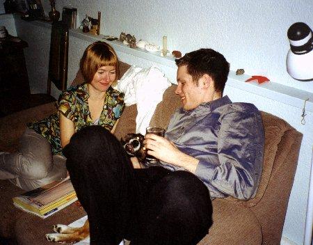 Galina and I in 2000