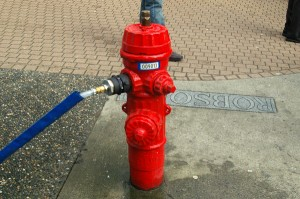 Vancouver fire hydrant