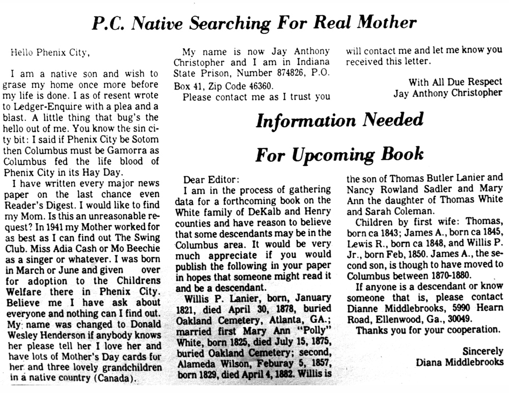 Alabama court unseals my father's birth records!