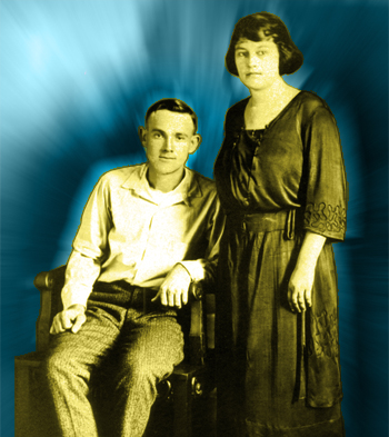 My grandparents Roabie and Carrie Henderson (1920s)