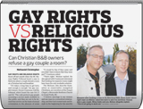 Gay Rights vs. Religious Rights