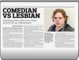Comedian vs Lesbian