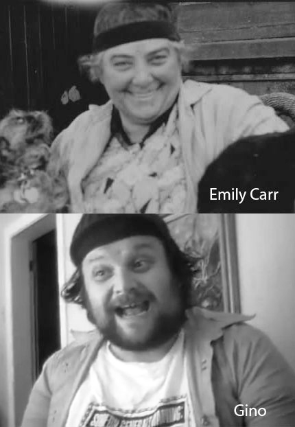 Emily Carr and Gino