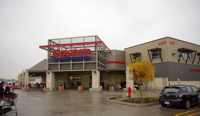 Costco, 4500 Still Creek Drive  Burnaby, BC