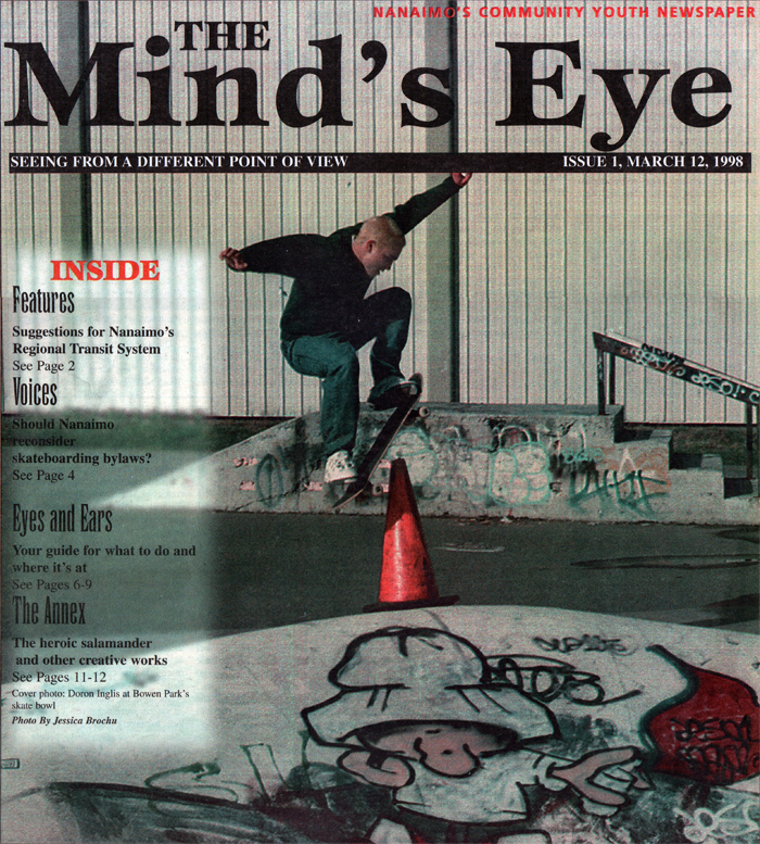 The first edition of the Mind's Eye