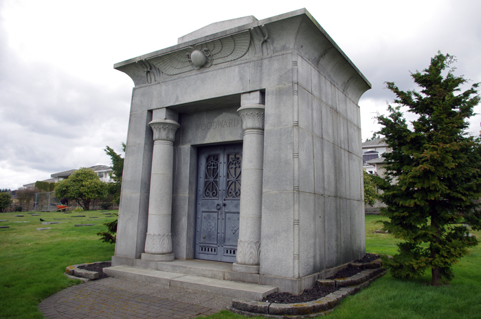 The Woodward Mausoleum.