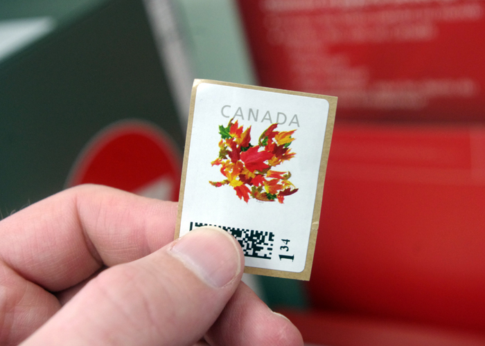 My stamp.