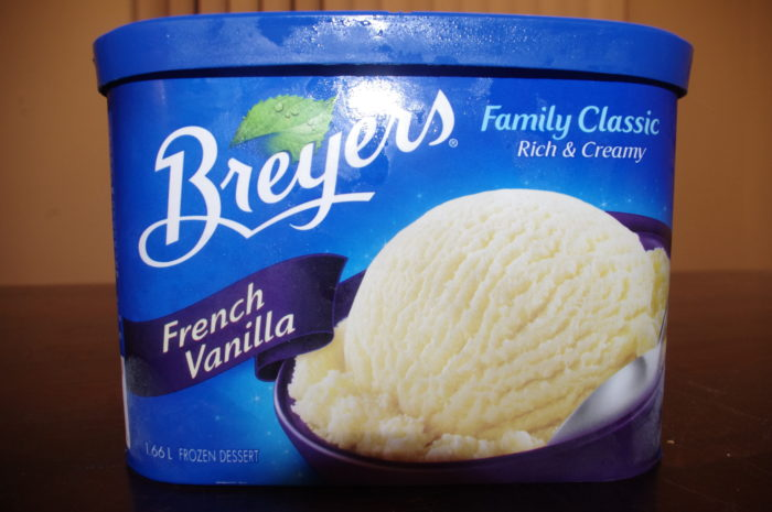 Breyers frozen dessert