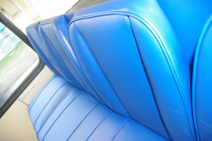 New bus seats on the 135