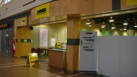 Elections Canada Office at Brentwood Town Centre