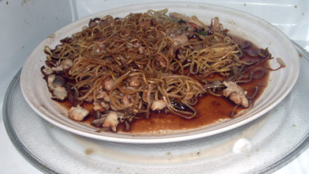 My housemate's undead Chinese food!
