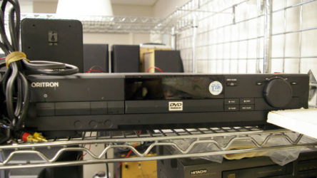 Y2K compliant DVD player at the Salvation Army