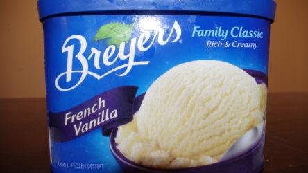 Breyers frozen dessert