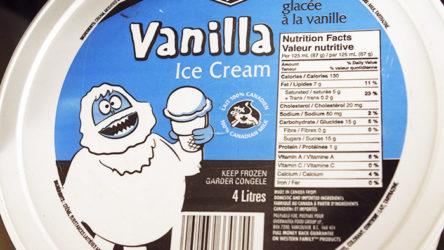 Western Family Vanilla Ice Cream