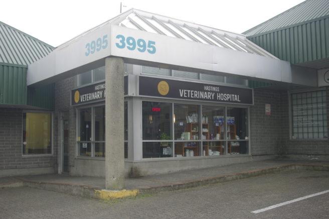 Hastings Veterinary Hospital in North Burnaby.